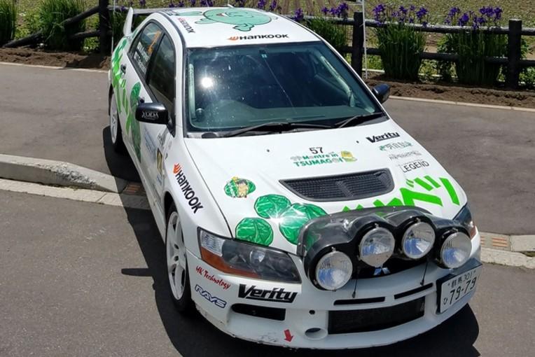 《ハンコックタイヤ》日本スーパーラリーシリーズでハンコックタイヤが、嬬恋キャベツラリーチームをサポート