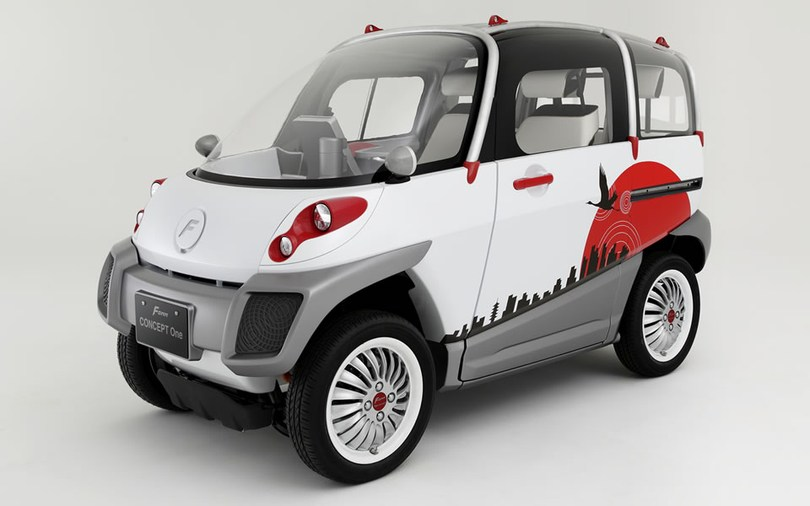 《FOMM Concept One》世界最小クラスの4人乗り超小型EV『FOMM Concept One』受注開始